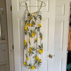 Moon River Lemon Dress